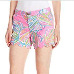 Lully Pulitzer Buttercup Shorts. Size 0 EUC